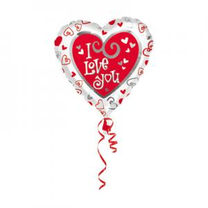Folie Ballon I Love You
