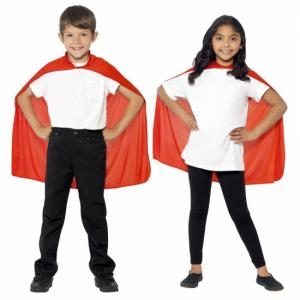 Superhero Kindercape Rood