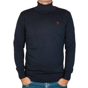 Heren Trui Rollneck Canvey Deep Navy