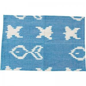 LIV Interior Placemat IKAT You Soon - Blue