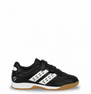 Voetbalschoen Goal JR Indoor Velcro Black / White 28-33