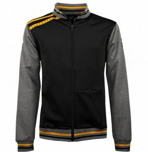 Tennis Jacket Slice Black / Grey Yellow