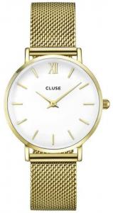 Minuit Mesh Gold/White CL30010 33mm
