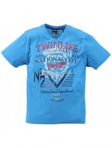 Twinlife PART MTS621518 Print T-Shirt 6202