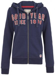 Goodyear Dames Hooded Zip Sweat Vandalia