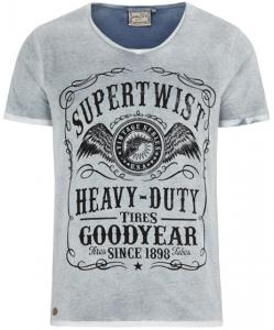 Goodyear Heren Slim Fit T-Shirt Wooster