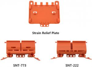 Wago Wire Din Rail Mounted Connector Carrier With Strain Relief