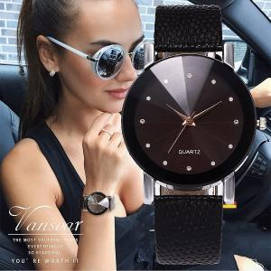 Vansvar Women Watch Luxury Brand Casual Simple Quartz Clock For