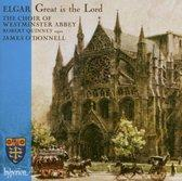 GREAT IS THE LORD CHOIR OF WESTMINSTER ABBEY/J.O. Audio CD E. EL