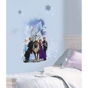 RoomMates Muursticker - Disney Frozen Winter Burst