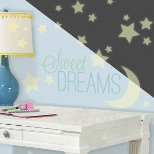 Muursticker RoomMates: Sweet Dreams Glow