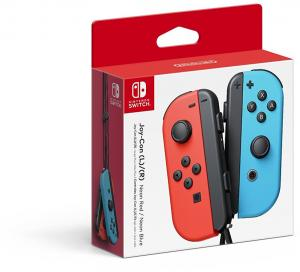 Nintendo Switch Joy-Con Controller Pair - Neon Red L & Blue R (0045496430689)