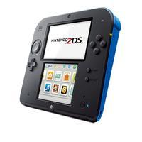 Nintendo 2DS Black Blue + Mario Kart 7