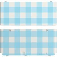 Cover Plate NEW Nintendo 3DS - Ruit Blauw