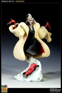 Disneys Cruella De Vil Mini Bust