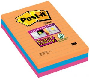 Post-it Super Sticky Notes Bangkok Ft 101 X 152 Mm 90 Blaadjes 3