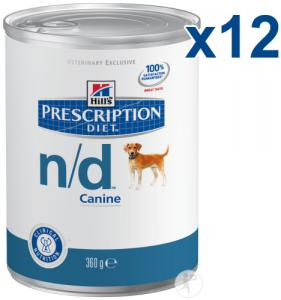 Hill Prescription Diet Canine N/d 360g