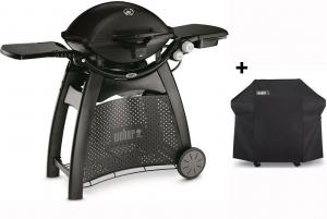 Weber Q3200 Gasbarbecue Station - Black