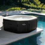 Intex 28456 PureSpa Jet & Bubble DeLuxe Jacuzzi 6-Persoons Set M