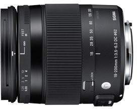Sigma 18-200mm F/3.5-6.3 DC MACRO OS HSM Contemporary Canon