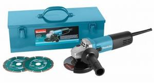 Makita Haakse Slijper Set 125 Mm