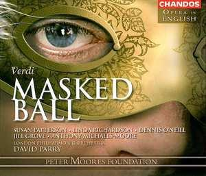 MASKED BALL -IN ENGLISH- LONDON P.O./D.PARRY/-OPERA IN ENGLISH-.