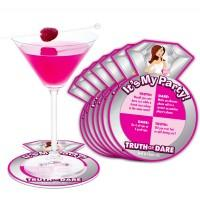 Bride-to-Be - Truth Or Dare Party Coasters