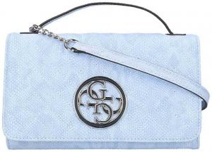 Guess G Lux Mini Wallet On A String Sky