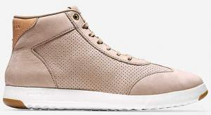 Cole Haan GrandPr Hi Top Maple Sugar Nubuck