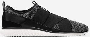 Cole Haan Studi Knit Trainer Black