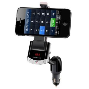 BT8118 Car MP3 Player LED Screen Wireless FM Transmitter With Sm