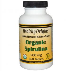 Biologische Spirulina 500 Mg 360 Tabletten - Healthy Origins