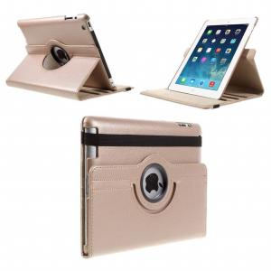 Stand Flip Sleepcover Hoes - IPad 2 / 3 4 Roze/goud