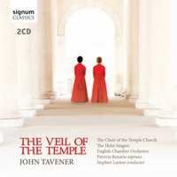Taverner - The Veil Of The Temple Holst Singers CD