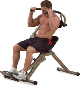 Body-Solid Best Fitness Ab Mantis Bench - Rood