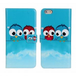 Wallet Vogeltjes Hoes IPhone 6s