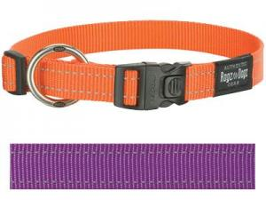 Rogz For Dogs Fanbelt Halsband Paars