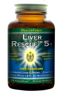 HealthForce Liver Rescue Support 120 V-Caps