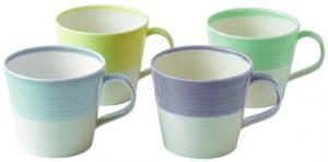 Royal Doulton 1815 Brights Mok 450 Ml Set Van 4
