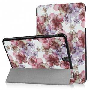 3-Vouw Bloesem Stand Flip Hoes Samsung Galaxy Tab S3 9.7