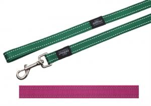 Rogz For Dogs Fanbelt Long Lijn Roze