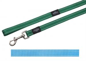 Rogz For Dogs Snake Lijn Turquoise