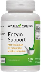 Enzyme Support - 180 Vcaps Van Supreme Nutrition