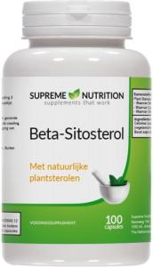 Beta-Sitosterol - 100 Tabletten Van Supreme Nutrition