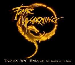 TALKING AIN.. -CD+DVD- .. WARNING LIVE IN.../ +BOOKLET. Audio CD