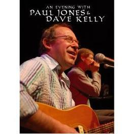 AN EVENING WITH PAL ALL REGIONS. DVD JONES PAUL & KELLY DAVE DVD
