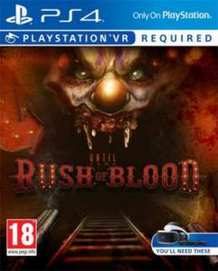 Until Dawn: Rush Of Blood PSVR Required