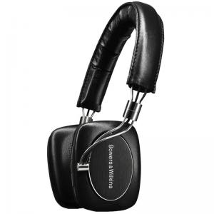 Bowers & Wilkins P5 Draadloze On-ear Koptelefoon - Zwart