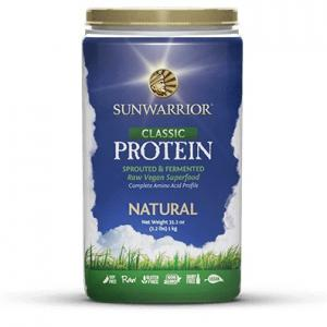 Sunwarrior Protein Eiwitten Powder Natural
