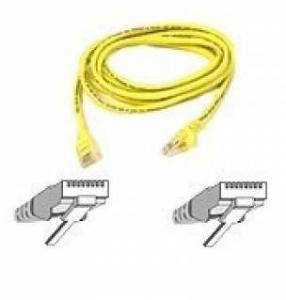 Belkin Patch Cable - RJ-45M 2m CAT 5e 10/100Base-T Yello A3L791B